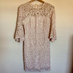 Classy sequined dress